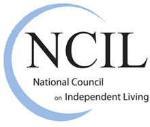 National Council on Independent Living (NCIL) logo