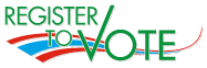 Logo of Register to Vote.